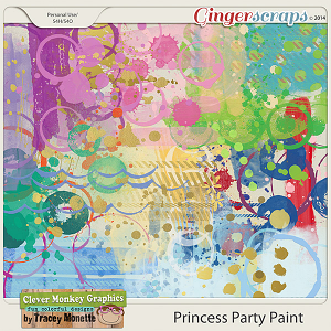 Magical Princess Party Paint by Clever Monkey Graphics