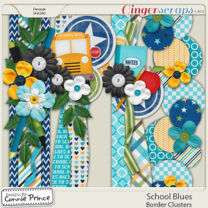 Retiring Soon - School Blues - Border Clusters