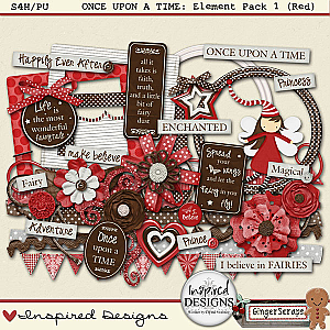Once Upon A Time: Element Pack (Red)