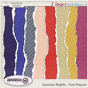 Summer Nights - Torn Papers
