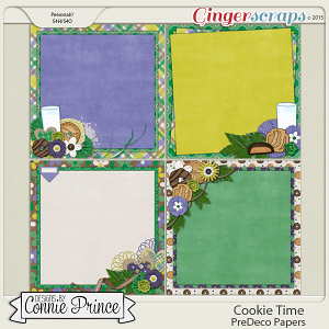 Cookie Time- PreDeco Papers