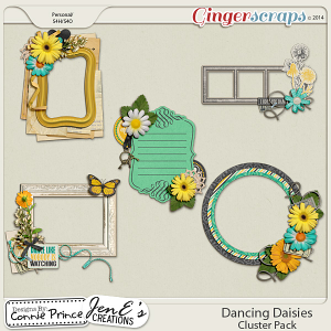 Dancing Daisies - Cluster Pack