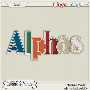 Nature Walk - Alpha Pack AddOn