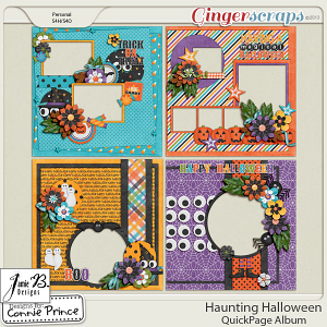 Retiring Soon - Haunting Halloween - QuickPage Album