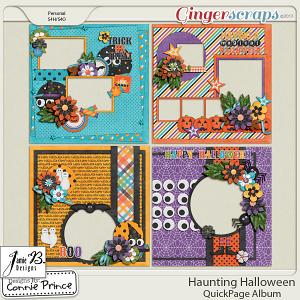 Retiring Soon - Haunting Halloween - QuickPage Album