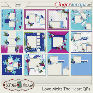 Love Melts The Heart Quick Pages