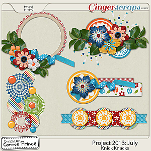 Project 2013:  July - Knick Knacks