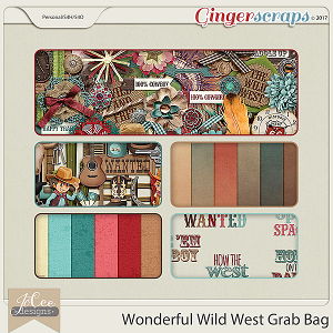 Wonderful Wild West Grab Bag by JoCee Designs
