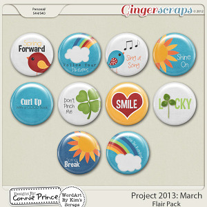 Project 2013: March - Flair Pack