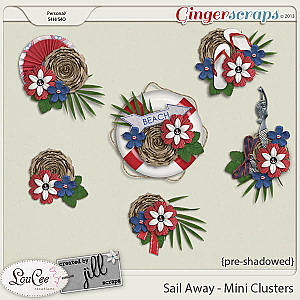 Sail Away - Mini Clusters