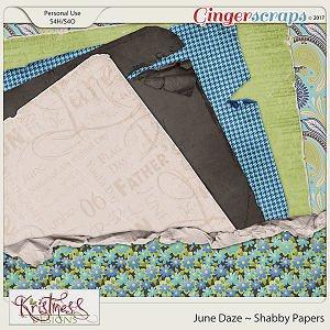 June Daze Shabby Papers