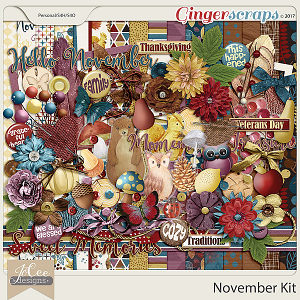 November Kit by JoCee Designs