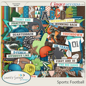 Sports: Football Page Kit