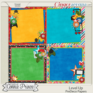 Level Up - PreDeco Papers