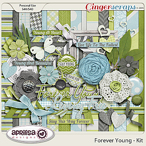 Forever Young Kit by Aprilisa Designs
