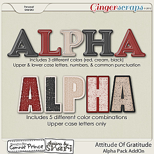 Attitude Of Gratitude - AddOn Alpha Pack