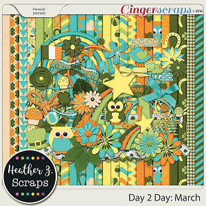 Day 2 Day: March KIT by Heather Z Scraps