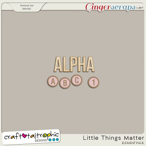 Little Things Matter Alphas