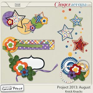 Retiring Soon - Project 2013:  August - Knick Knacks