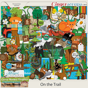 On the Trail by Clever Monkey Graphics & Meagan's Creations