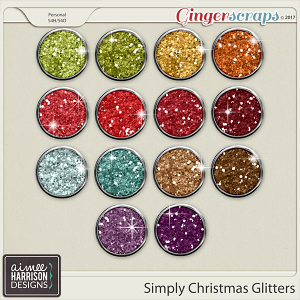 Simply Christmas Glitters by Aimee Harrison