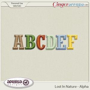 Lost In Nature - Alpha by Aprilisa Designs