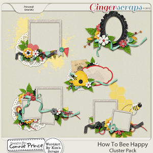 How To Bee Happy - Cluster Pack