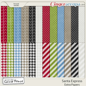 Santa Express - Extra Papers