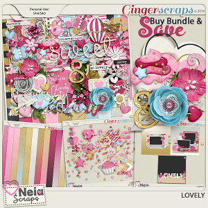 Lovely - Bundle - by Neia Scraps