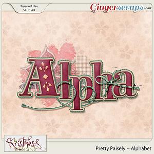 Pretty Paisley Alphabet