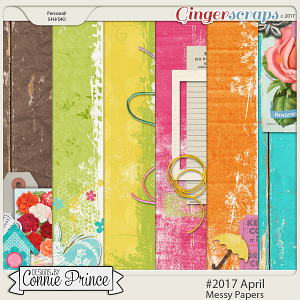 #2017 April - Messy Papers