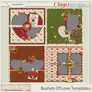 Bushels Of Love Kitted Templates