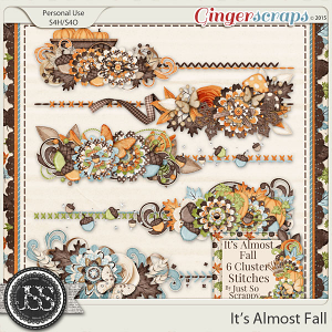 It's Almost Fall Cluster Stitches