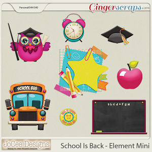 School Is Back Element Mini