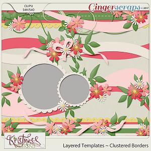 Layered Border Templates Set 1