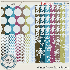 Winter Cozy - Extra Papers
