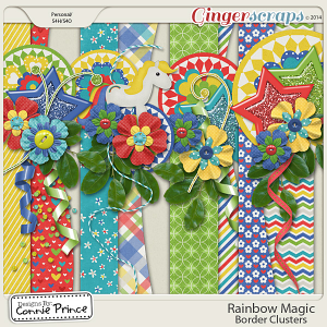 Rainbow Magic - Border Clusters