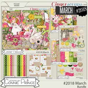 #2018 March - Bundle Collection by Connie Prince