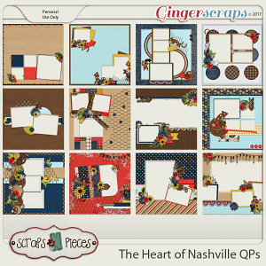 The Heart of Nashville Quick Pages