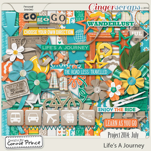 Project 2014 July: Life's A Journey - Kit