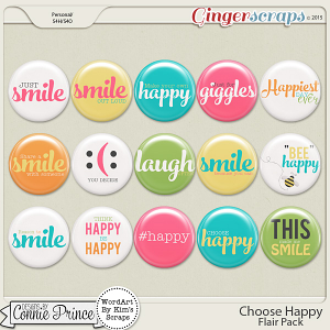 Choose Happy - Flair Pack