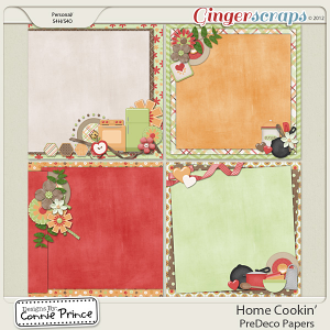 Retiring Soon - Home Cookin' - PreDeco Papers