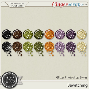 Bewitching Glitter Photoshop Styles