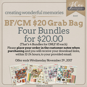 Four for $20 Black Friday Cyber Monday Grab Bag by JoCee Designs