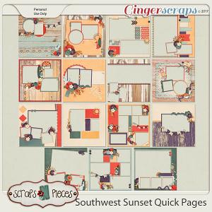 Southwest Sunset Quick Pages