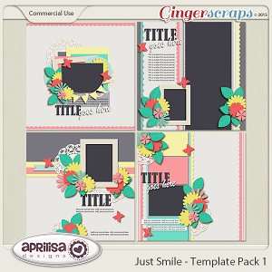 Just Smile - Template Pack 1