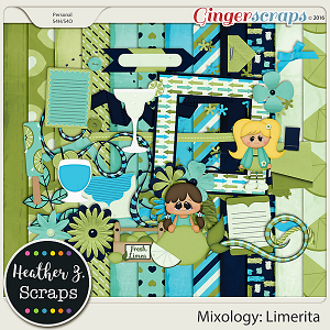 Mixology: Limerita KIT by Heather Z Scraps