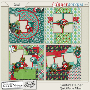 Santa's Helper - QuickPage Album