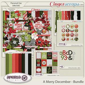 A Merry December - Bundle by Aprilisa Designs
