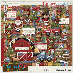 Oh Christmas Tree by BoomersGirl Designs